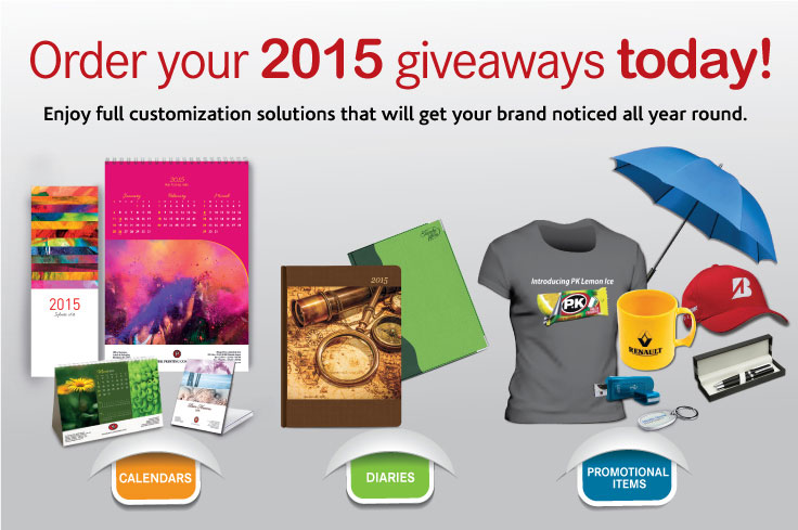 2015 Giveaways